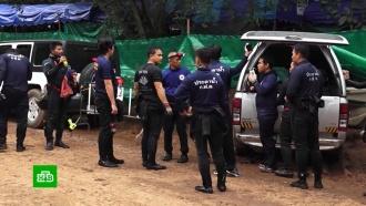 Шестеро школьников спасены из затопленной пещеры вТаиланде