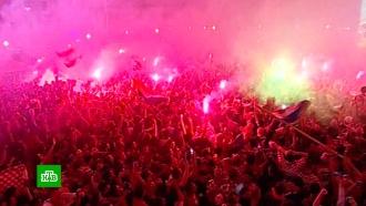 Хорватия вышла вфинал чемпионата мира по футболу