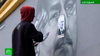 Неуемный жалобщик из Петербурга ополчился на вторые граффити сЧерчесовым