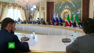 Новый полпред президента в СКФО передал Кадырову благодарственное письмо от Путина