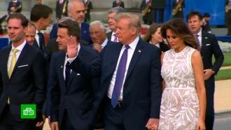 Трамп вносит смуту: первый день саммита НАТО не обошелся без скандалов