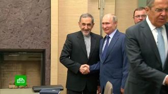 Песков раскрыл детали встречи Путина исоветника лидера Ирана