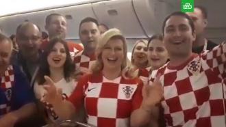 Президент Хорватии обратилась к&nbsp;россиянам перед финалом <nobr>ЧМ-2018</nobr>