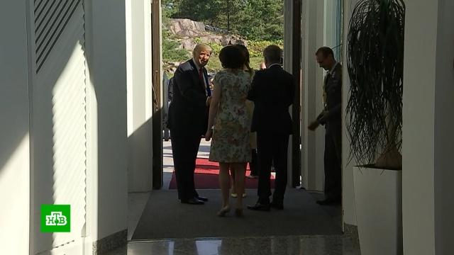 Хельсинки превратился в крепость перед встречей Путина и Трампа.переговоры, Путин, Трамп Дональд, Хельсинки.НТВ.Ru: новости, видео, программы телеканала НТВ