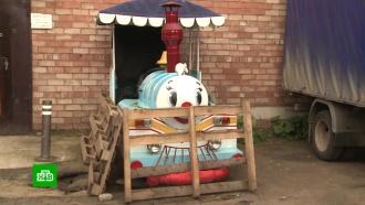 ГИБДД Сыктывкара объявила детский паровозик трактором и требует на него права