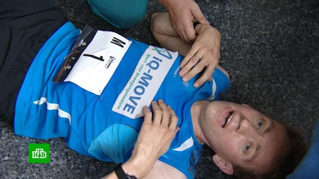 В Москве состоялся забег на Останкинскую телебашню.марафоны, Москва.НТВ.Ru: новости, видео, программы телеканала НТВ