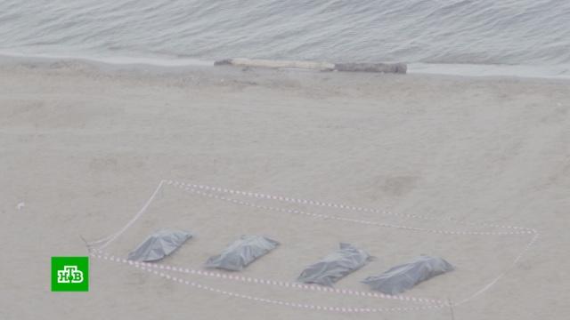 Жители Ульяновска инсценировали убийство четырех человек ради борьбы с мусором.мусор, Ульяновск, экология.НТВ.Ru: новости, видео, программы телеканала НТВ