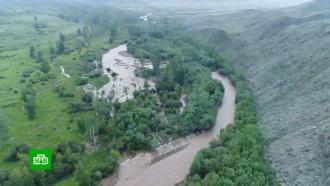 Большая вода: в четырех районах Тувы ввели режим ЧС из-за паводка