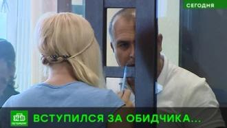 Пострадавший в дорожном конфликте в Петербурге просит строго не наказывать обидчика