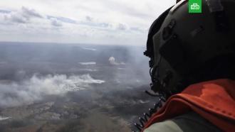 Швеция сбросила бомбу на лесной пожар