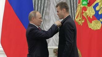 Путин назвал легендой отбитый Акинфеевым пенальти