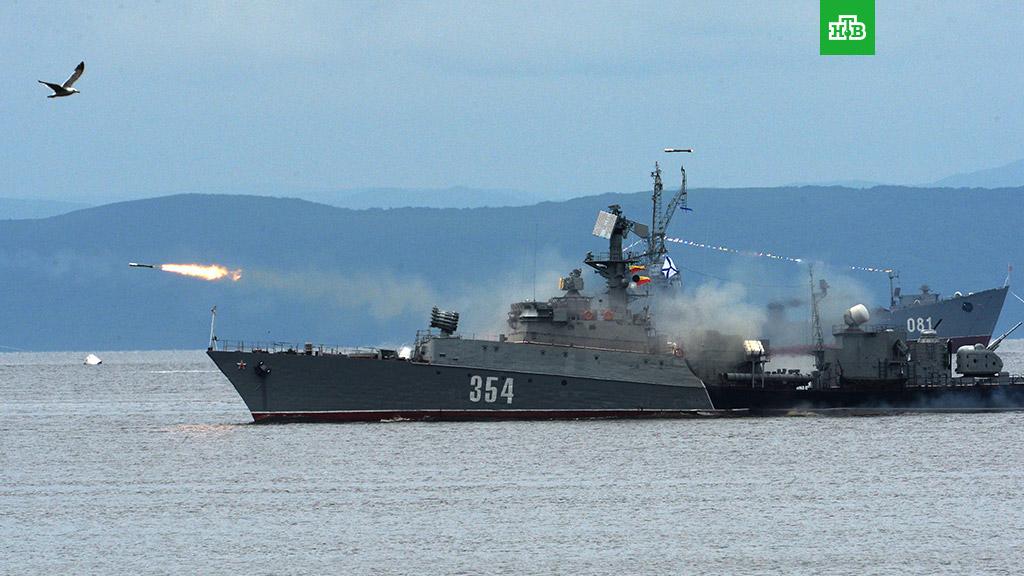 Попал в морской флот