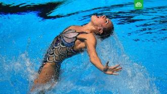 Синхронистка из Ленобласти завоевала золото на чемпионате Европы