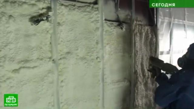 В Петербурге представили инновационный способ борьбы с сосульками.ЖКХ, Санкт-Петербург, изобретения, снег, технологии.НТВ.Ru: новости, видео, программы телеканала НТВ