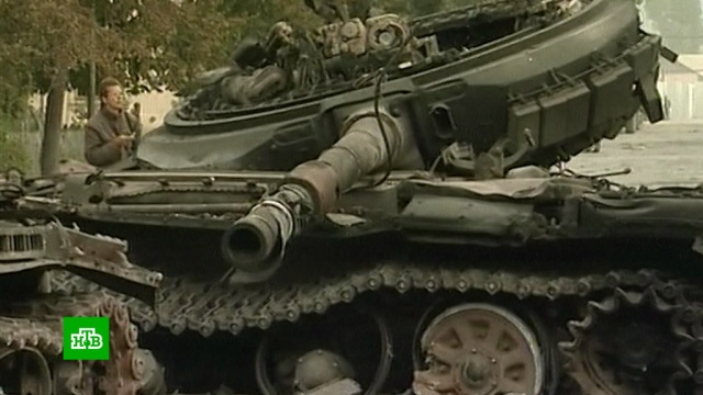 Десять лет спустя: вЮжной Осетии вспоминают погибших в5-дневной войне.Абхазия, Грузия, Южная Осетия, войны и вооруженные конфликты.НТВ.Ru: новости, видео, программы телеканала НТВ