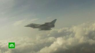 ВЭстонии взоне поиска по ошибке запущенной ракеты вспыхнул пожар