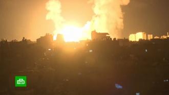 Израильская авиация атаковала объекты ХАМАС вГазе