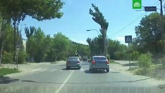 Под Волгоградом пенсионер сбил женщину-полицейскую на «зебре»
