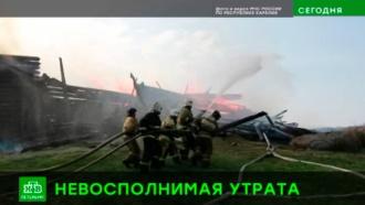Петербургский градозащитник: сгоревшая дотла церковь в Карелии реставрации не подлежит