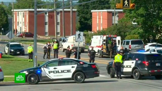 Канадская полиция задержала убившего четырех человек стрелка.Канада, задержание, полиция, стрельба.НТВ.Ru: новости, видео, программы телеканала НТВ