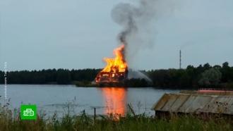Сгоревшую в Карелии старинную церковь могут восстановить
