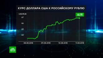Психологический фактор: волатильность рубля объяснили неопределенностью санкций