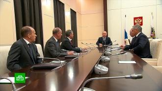 Песков: Путин иСовбез РФ констатировали «полную нелегитимность» санкций США