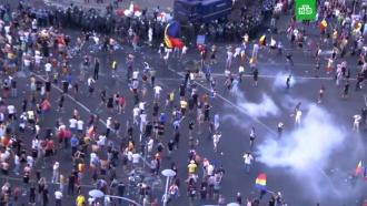 Более 170человек пострадали входе протестов вБухаресте