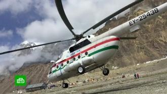 Выжившие после падения вертолета альпинисты жгли свои вещи, чтобы согреться