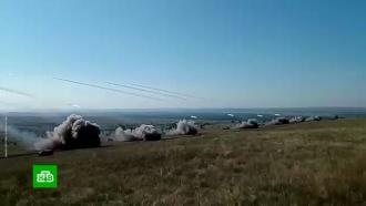 Под Оренбургом артиллеристы уничтожили цеха с оружием условных боевиков