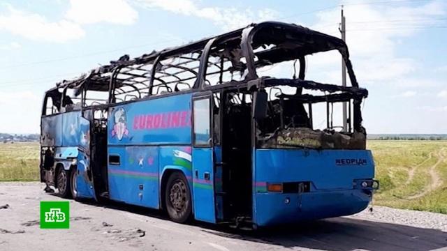 Тренер из Казахстана спас 48человек из горящего автобуса на Алтае.автобусы, Алтайский край, пожары.НТВ.Ru: новости, видео, программы телеканала НТВ