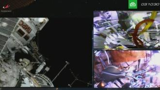 Артемьев иПрокопьев вернулись на борт МКС