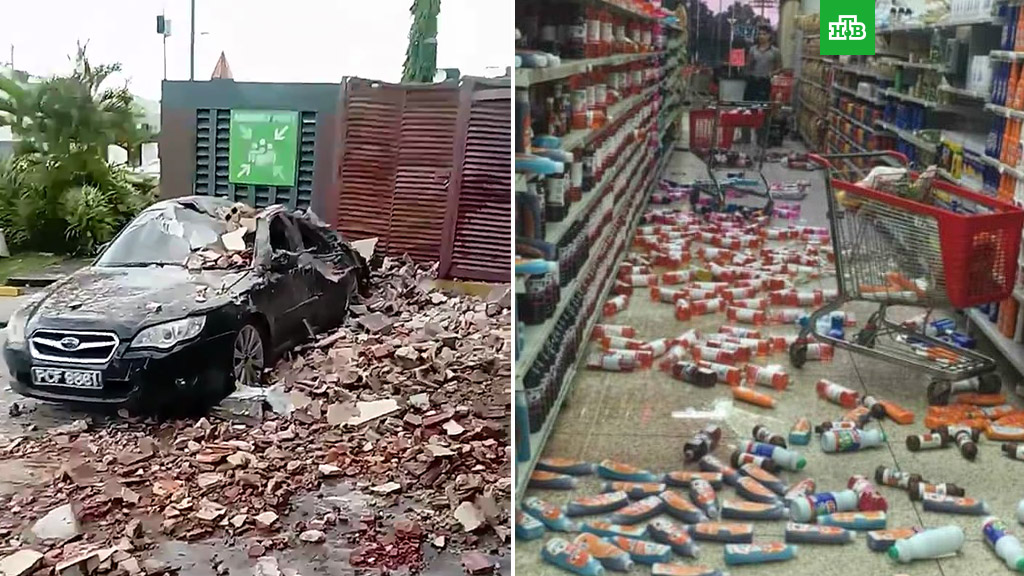 ВВенесуэле произошло землетрясение