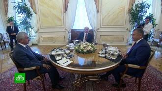 Главы Абхазии и Южной Осетии поблагодарили Путина за обеспечение безопасности республик