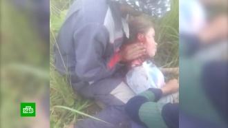 Рабочие вырвали школьницу из пасти ротвейлера в Подмосковье