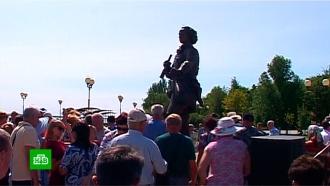 В России открыли еще один памятнику Петру I