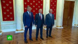 Путин, Хаджимба и Бибилов подвели итоги 10 лет независимости Абхазии и Южной Осетии
