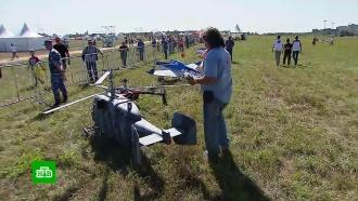 ВБалашихе проходит фестиваль малой авиации ивоздухоплавания
