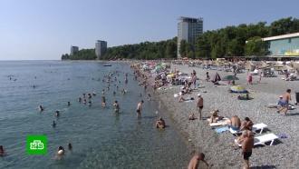 Абхазию посетили 800 тысяч туристов