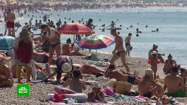 Крым накрывает аномальная жара.жара, Крым, лето, погода, погодные аномалии.НТВ.Ru: новости, видео, программы телеканала НТВ