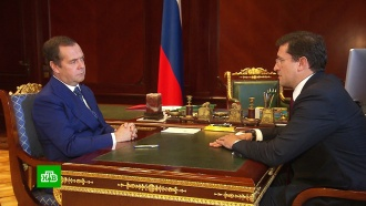 Медведев обсудил состояние школ сврио губернатора Нижегородской области