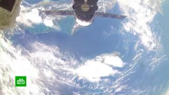 Российские космонавты подтвердили герметичность заплатки на корабле «Союз»