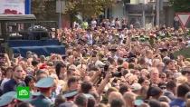 Захарченко похоронили рядом сГиви иМоторолой