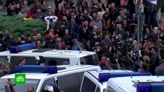 Вуличных протестах внемецком Хемнице ранены 18человек