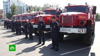 Иркутская пожарная служба обзавелась новыми автоцистернами