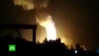 СМИ: ракетного удара по аэродрому уДамаска не было, произошла детонация снарядов