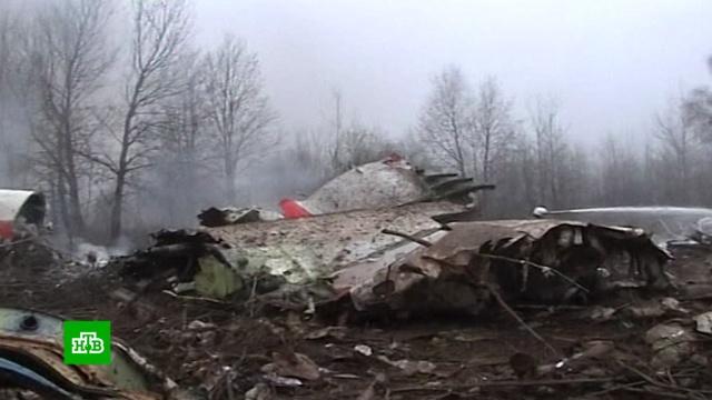 СК: экспертизы опровергли версию овзрыве всамолете Качиньского.Польша, Следственный комитет, авиационные катастрофы и происшествия, расследование.НТВ.Ru: новости, видео, программы телеканала НТВ