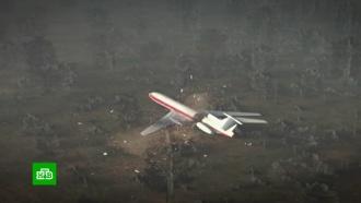 Российские и польские следователи снова осматривают обломки самолета Качиньского