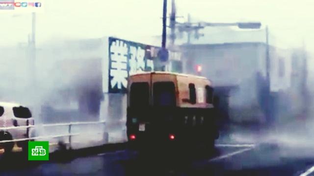 Мощный тайфун «Джеби» надвигается на Сахалин.Приморье, Сахалин, Япония, погода, штормы и ураганы.НТВ.Ru: новости, видео, программы телеканала НТВ