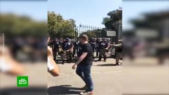 В&nbsp;<nobr>Рио-де-Жанейро</nobr> вспыхнули беспорядки <nobr>из-за</nobr> сгоревшего музея